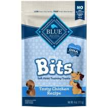 Blue Buffalo BLUE Bits Natural Soft-Moist Training Dog Treats, Chicken Recipe 4-oz bag
