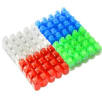 Novelty Place LED Finger Lights 80 Pack Bright Party Favors Party Supplies for Holiday Light up Toys Assorted Color