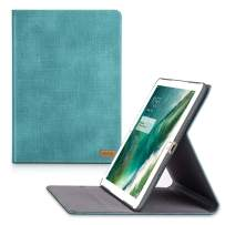 TORRAS New iPad 9.7 2018/2017 Case, Faded Denim Slim Cover Auto Sleep/Wake Up Adjustable Stand Folio Case Compatible with The New iPad 5th / iPad 6th Generation - Mint