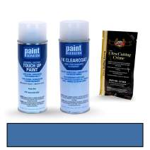 PAINTSCRATCH Touch Up Paint Spray Can Car Scratch Repair Kit - Compatible with Toyota Tacoma Voodoo Blue (Color Code: 8T6)