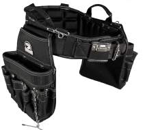 Gatorback B240 Electrician's Combo with Pro-Comfort Back Support Belt. Heavy Duty Ventilated Work Belt (Small 26-30 inches)