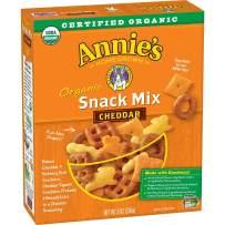 Annie's Homegrown Organic Cheddar Snack Mix, Bunnies Cheddar, 9 Oz