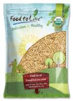 Organic Brown Basmati Rice, 8 Pounds - Raw, Non-GMO, Kosher, Bulk