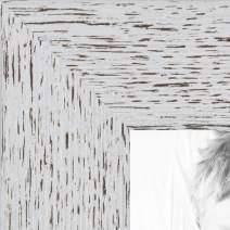 ArtToFrames WOM0066-77900-YWHT-24x30 Barnwood Wood Picture Frame, 24 x 30, White