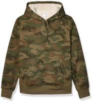 Amazon Essentials Men's Sherpa Lined Pullover Hoodie Sweatshirt