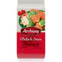 Archway Cookies, Bells and Stars Holiday Cookies, 6 Oz