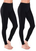 Emmalise Women's Full Ankle Length Layering Seamless Leggings Ankle Length