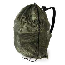 GUGULUZA Green/Camo Mesh Decoy Bags with Shoulder Straps - for Hunting Duck/Goose Waterfowl Backpack