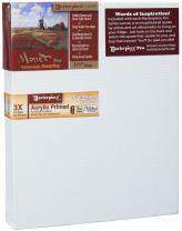 "Masterpiece Artist Canvas MM-1622 Monet Pro 1-1/2"" Deep, 16"" x 22"", Cotton 10.5oz - 3X - Monterey Most Popular"