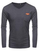 COOFANDY Men's Long Sleeve Henley Shirts Plain Raglan Cotton Casual Basic T Shirt