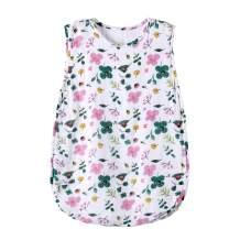 bebe living Bamboo Muslin Baby Sleep Bag,Newborn Sleepwear,Enfant Sleeping Sack,0-12months,TOG2.5