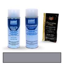 PAINTSCRATCH Touch Up Paint Spray Can Car Scratch Repair Kit - Compatible with Audi Q8 Florett Silver Metallic (Color Code: LZ7G/L5)