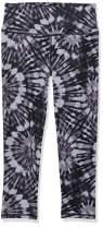Danskin Women's All Over Printed Capri Legging