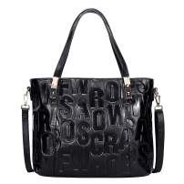 OVER EARTH Genuine Leather Shoulder Handbags for Women Top Handle Satchel Bags Large