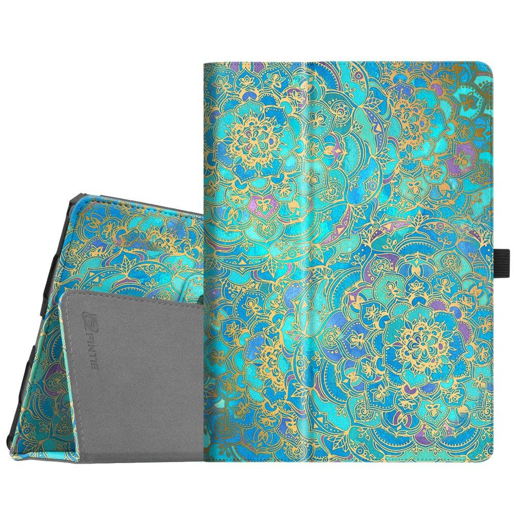 "Fintie Folio Case for iPad Air (3rd Gen) 10.5"" 2019 / iPad Pro 10.5"" 2017 - [Corner Protection] Premium PU Leather Smart Folio Cover with Pencil Holder, Auto Sleep/Wake, Shades of Blue"
