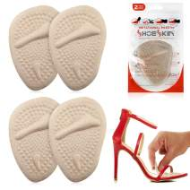 Metatarsal Pads for Women & Men - Ball of Foot Cushions for Pain Relief - Comfortable, Nonslip, Reusable, Light and Great for High Heels