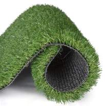 Artificial Grass for Dogs Synthetic Turf Artificial Lawn Rug with Drainage Holes&Rubber Backing, Blade Height 1.2inch Indoor/Outdoor Landscape.