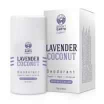 Natural Coconut Lavender Organic Deodorant - w/Magnesium and Aloe - Healthy, Safe, Non Toxic - Baking Soda, Aluminum, Phthalate, Paraben, Gluten & Cruelty FREE