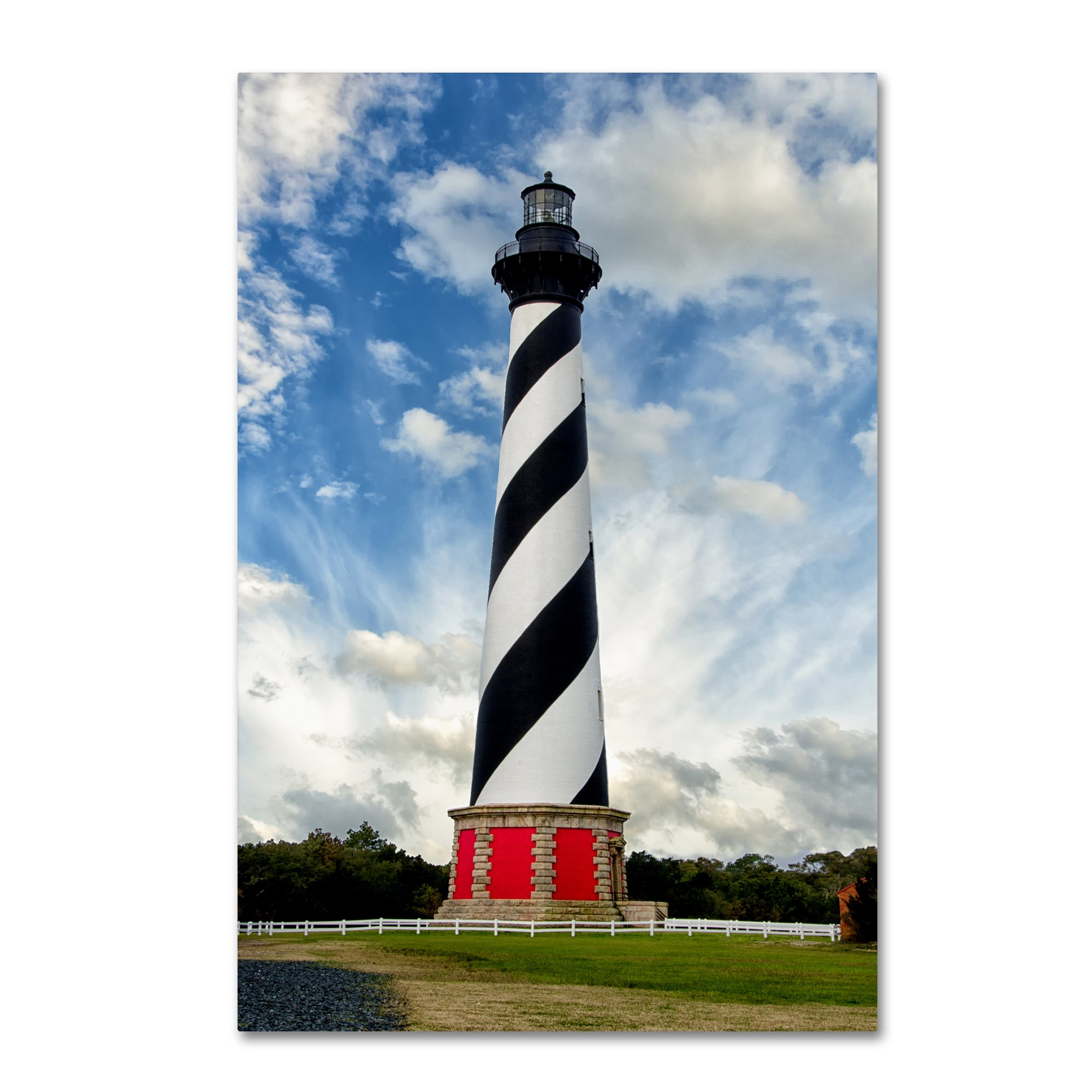 Cape Hatteras Lighthouse by PIPA Fine Art, 22x32-Inch Canvas Wall Art