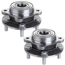 ECCPP Replacement for Pair of 2 New Complete Front Wheel Hub Bearing Assembly 5 Lugs for 1991-1996 Dodge Stealth1991-2006 Mitsubishi 3000GT Lancer 513133 x2