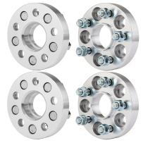 ECCPP 4X 1 inch Wheel Spacers 5 Lug 5x100 to 5x100 56.1mm fits for Subaru BRZ Subaru Baja Subaru Legacy Subaru Outback Saab 9-2x Scion FR-S with 12x1.25 Studs