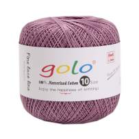Crochet Thread Yarns for Begingers Size10-100% Contton Yarn for Knitting Crochet DIY Hardanger Cross Sitch Crochet Thread Balls Rainbow Turquoise 52 Colors Avilable (Bronze Color)