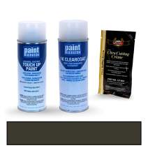 PAINTSCRATCH Touch Up Paint Spray Can Car Scratch Repair Kit - Compatible with Subaru Tribeca Crystal Black Silica Pearl (Color Code: D4S)
