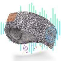 ZIIDOO Sleep Headphones Bluetooth Headband,Soft Sleeping Wireless Music Sport Headbands with Ultra-Thin HD Stereo Speakers Perfect for Sleeping,Workout,Yoga,Insomnia, Air Travel, Meditation(Gray)