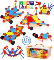 Smarkids Building Blocks for Toddlers, STEM Building Toys for Kids Early Learning Toys Educational Creative Construction Toys, DIY Toy Blocks Gift for Kids Boys Girls Ages 3 4 5 6 7 8 9 10 Year Old