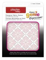Playtex Diaper Genie Expressions Diaper Pail Fabric Sleeve, Pink Starburst