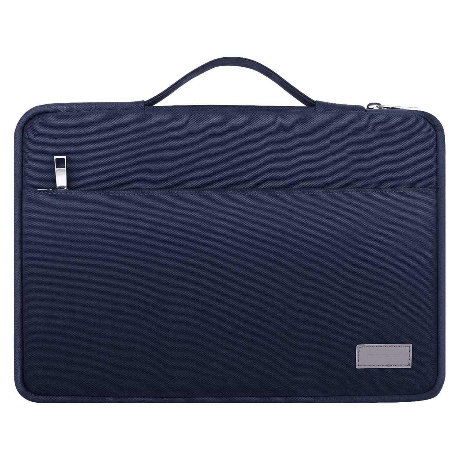 MoKo 8-10.1 Inch Kids Tablet Sleeve Case, Polyester Zipper Carrying Case Bag Fits Fire HD 10 / HD 8 Kids Edition, Kindle Fire HD 10.1 Inch 2019, with Accessory Pocket - Indigo