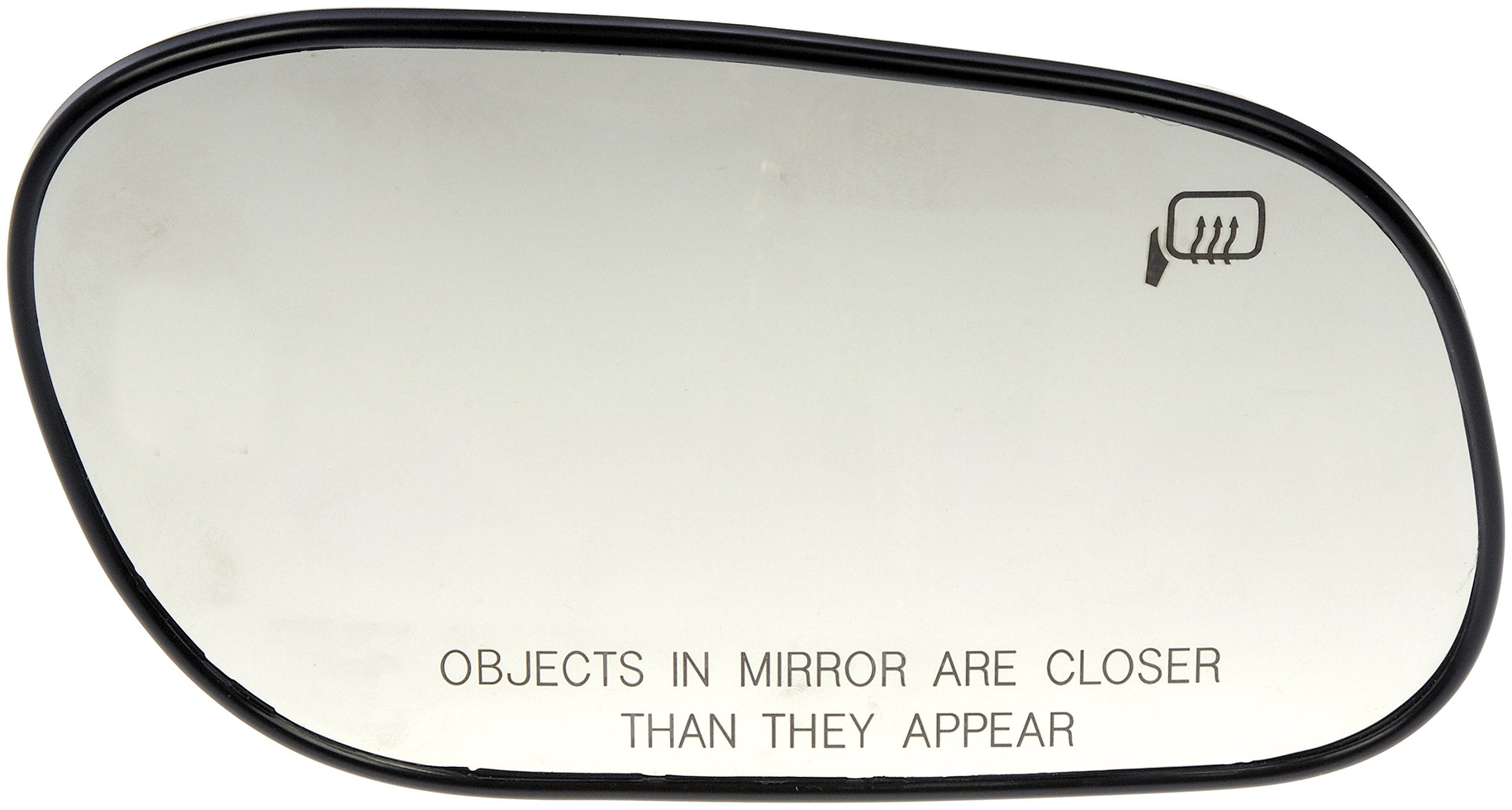 Dorman 56131 HELP!-Look! Passenger Side Heated Plastic Backed Mirror Glass