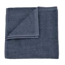 "Coyuchi Air Weight Organic OS Hand Towel, 20""x40"", French Blue"