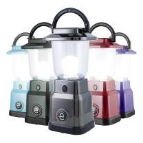 Enbrighten LED Mini Lantern, Battery Operated, Bright White, 200 Lumens, 40 Hour Runtime, 3 Light Levels, Ideal for Outdoors, Camping, Hurricane, Storm, Tornado & Emergency, Bronze, 36578