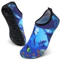 FEETCITY Mens Water Shoes Women Aqua Socks Quick-Dry Beach Surf Swim Shoe Barefoot Boat Yoga Sneakers