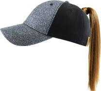 Bad Hair Day Ponytail All Cotton Baseball Cap Comfy Sports Hat Daily Wear Messy High Bun Fits Everyone