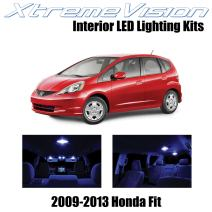 Xtremevision Interior LED for Honda Fit 2009-2013 (6 Pieces) Blue Interior LED Kit + Installation Tool