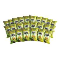 Barnana Organic Plantain Chips - Acapulco Lime - 1.5 Ounce, 24 Pack Plantains - Barnana Salty, Crunchy, Thick Sliced Snack - Best Chip For Your Everyday Life - Cooked in Premium Coconut Oil