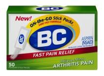 BC Powder | Fast Pain Relief | Arthritis | Aspirin (NSAID) & Caffeine | 50 Count