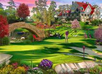 Golfer's Paradise Jigsaw Puzzle 1000 Piece