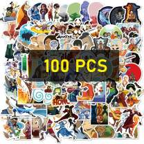 100pcs The Last Airbender Stickers Anime Sticker Waterproof and Doodle Stickers for Kids Teens Adults (100pcs The Last Airbender)