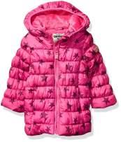 Osh Kosh Girls' Little Perfect Colorblocked Heavyweight Jacket Coat