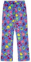 Candy Pink Girls Plush Premium Fuzzy Fleece Pants