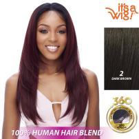 it's a Wig Soft 360 All Around Soft Lace Endless (2 - DARK BROWN)