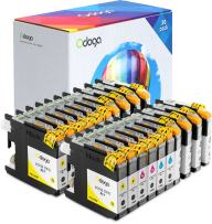 Odoga 20 Pack LC103XL LC103 LC101 Ink Cartridge, High Yield Combo Pack Replacement for for Brother MFC-J450DW J470DW J475DW J870DW J4510DW J6920DW J4710DW [8 Black, 4 Cyan, 4 Magenta, 4 Yellow]