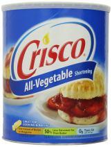 Crisco All Vegetable Shortening, 6 lb, 96 Ounce