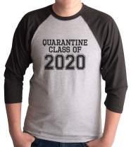 7 ate 9 Apparel Mens Quarantine Class of 2020 Grey Shirt