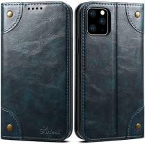 SINIANL Case for iPhone 11/11 Pro/11 Pro Max Leather Wallet Case TPU Inner Shell With Card Holder Slots Flip Cover