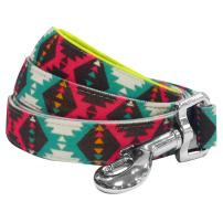 Blueberry Pet 10+ Patterns Soft & Comfy Vintage Tribal Dog Collars, Harnesses or Leashes
