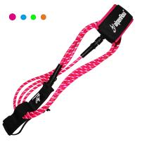 A ALPENFLOW 8' Premium Surfboard Leash 8ft Surf Board Leg Rope SUP Legrope Paddleboard Straight Leash
